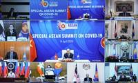 ASEAN mendorong kerjasama dalam melawan Covid-19