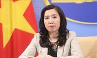 Vietnam memperhatikan dan memantau secara ketat situasi rumit di kawasan laut beberapa negara ASEAN