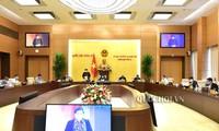 Acara penutupan Persidangan ke-44 Komite Tetap MN Vietnam