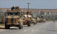 Rusia dan Turki melaksanakan patroli gabungan di Suriah
