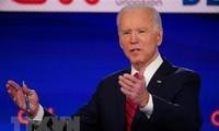 Pilpres AS 2020: Calon Joe Biden mencapai kemenangan dalam pemilihan pendahuluan di Kansas