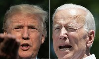 Pilpres AS 2020: Presiden Donald Trump melampaui lawan-nya, capres Joe Biden dalam jajak pendapat di Negara Bagian  Iowa