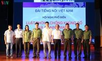 VOV menyosialisasikan UU mengenai Pencegahan dan Pemberantasan Terorisme dan UU mengenai Keamanan Siber