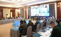 Konferensi online Jaringan Pusat-Pusat Penjagaan Perdamaian ASEAN