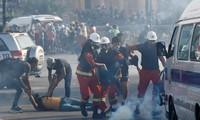 Lebanon: 238 orang yang terluka dalam demonstrasi-demonstrasi