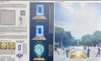 Desain Tonggak Km 0 – Melambangkan Budaya Ibukota Ha Noi