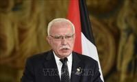 Palestina menarik diri keluar dari  Keketuaan Liga Arab