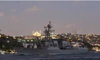 Angkatan Laut AS dan Ukraina melaksanakan latihan perang gabungan di Laut Hitam