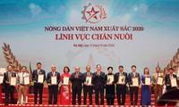 Memuji dan memberikan gelar kepada 63 petani Vietnam yang  tipikal tahun 2020