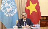 Vietnam mendukung semua upaya dan gagasan untuk mencapai satu solusi komprehensif bagi masalah Palestina
