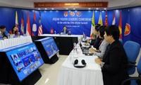 Konferensi virtual pemimpin pemuda ASEAN