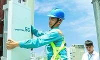 Kota Ha Noi dan Kota Ho Chi Minh melakukan ekperimen jaringan 5G secara komersial