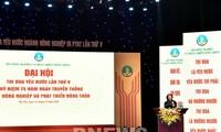 Wapres Dang Thi Ngoc Thinh Menghadiri Kongres ke-5 Kompetisi Patriotik  Cabang Pertanian