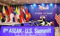 Para mitra menegaskan akan mengembangkan hubungan kerjasama dengan ASEAN