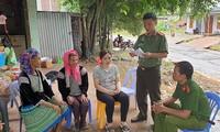 Menjamin Kebebasan  Berkepercayaan, dan Beragama kepada Warga di Kabupaten Muong Nhe, Provinsi Dien Bien