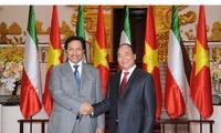 Telegram Ucapan Selamat Sehubungan dengan HUT ke-45 Hubungan Diplomatik Vietnam-Kuwait