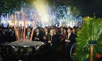 Sekjen, Presiden Nguyen Phu Trong Ucapkan Selamat Hari Raya Tet Kepada Pemerintahan Dan Warga Kota Ha Noi