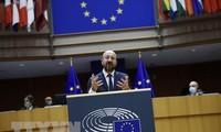 Pimpinan Uni Eropa Bahas Paspor Bagi Vaksin Pencegah Covid-19 di KTT Online