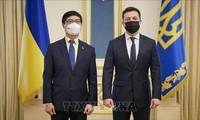 Presiden Ukraina Terkesan dengan Semua Prestasi Vietnam