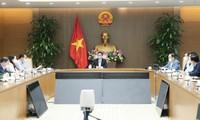 Sidang Komite Pengarahan Nasional Urusan Pencegahan dan Pengendalian Wabah Covid-19