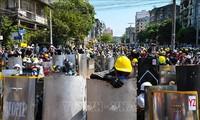 DPR AS Esahkan RUU Yang Kutuk  Kudeta di Myamar