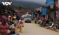 Pasar Co Ma yang Meriah