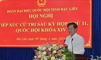 Delegasi Anggota MN Vietnam dari Provinsi Bac Lieu dan Provinsi Bac Ninh Adakan Kontak dengan Pemilih