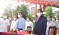 Para Pemilih Vietnam Aktif Berikan Suara untuk Pilih Anggota MN dan Anggota Dewan Rakyat Berbagai Tingkat