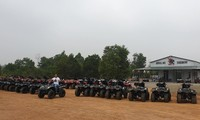 Merasakan  Pengalaman di Hutan dengan kendaraan  ATV di Dong Mo Discovery
