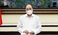 Presiden Nguyen Xuan Phuc: Tingkatkan Efektivitas Kegiatan Mahkamah Agung Di Tengah Situasi Baru