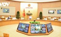 PM Pham Minh Chinh Adakan Sidang Virtual dengan 9.000 Kecamatan dan Kecamatan Kota di Seluruh Negeri untuk Aturkan Pengendalian Wabah