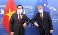 Kerja Sama Vietnam dengan Uni Eropa dan Parlemen Eropa Berhasil Laksanakan EVFTA