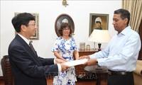 Les Seychelles prennent en considération leurs relations avec le Vietnam