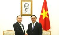 Vuong Dinh Huê plaide pour un équilibre commercial entre le Vietnam et la République de Corée