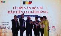 Un festival d'échanges culturel et économique Vietnam-Belgique à Haiphong
