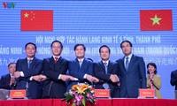 Renforcement de la coopération économique Quang Ninh-Hai Phong-Hanoï-Lao Cai (Vietnam)-Yunnan (Chine)