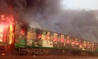 Pakistan : incendie accidentel meurtrier à bord d'un train
