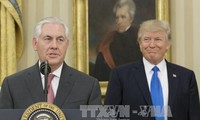 Russia urges cooperation with US as Tillerson visits