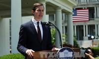 US supports Israeli-Palestinian peace process