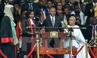 Kenyan President vows to unite nation
