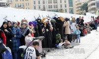 UN launches 4.4 billion USD plan to support Syrian refugees