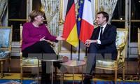 Merkel, Macron to deepen cooperation, strengthen EU