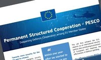 EU defense ministers adopt roadmap for enhanced cooperation