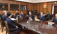 Koreas hold 'thorough' talks on upcoming summit