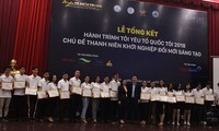 Tour promotes innovative start-ups among young people