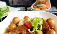 Vietnamese Braised Pork with Eggs