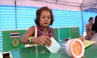 Thailand votes in first post-coup election