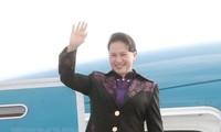 NA Chairwoman begins working visit to European Parliament