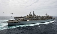 US says its navy shoots down Iranian drone in Strait of Hormuz