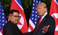 Trump says he's open to meeting Kim again this year